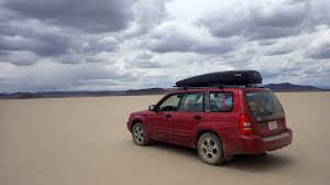 customized subaru forester ruby u0027s first roadtrip travels with the blonde coyote