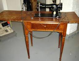 Singer Sewing Machine Desk Antique Sewing Machine Cabinet Restoration Antique Sewing Machine