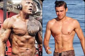 a guide to your feelings during the zac efron the rock baywatch