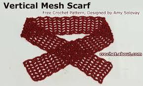 simple pattern crochet scarf 27 free crochet scarf patterns