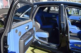 rolls royce blue interior 2017 rolls royce black badge ghost ii 22 photos inside and out