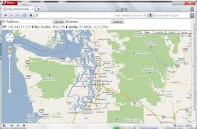 ip address map geolocation of ip addresses geoip and maps