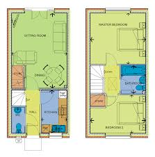 Eco Friendly Floor Plans The Oaks Development Of 32 Eco Friendly Homes In Tipton