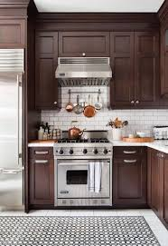 brown kitchen cabinets with backsplash 11 easy ways to modernize brown cabinets