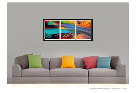 contemporary wall 3pc abstract prints set contemporary wall by destiny womack