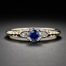1940s engagement rings 1940s vintage sapphire engagement ring