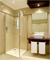 bathroom doorless shower ideas two chrome metal wall towel hanging