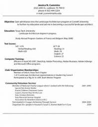 Internship Resume Template Word Resume Template Sample Internship Formal Letter Job With Regard