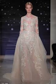 Bridle Dress New Trend Sees Brides To Be Donning And See Through Wedding