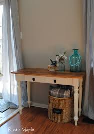 rustic maple rustic farmhouse table in ascp old white and provence