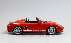 red porsche convertible gt spirit gt017a porsche boxster spyder red 1 18 scale resin car