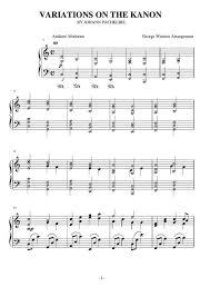 tutorial piano canon canon george winston synthesia download