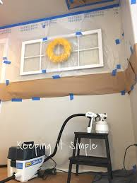 How To Get Paint Off Walls by Keeping It Simple How To Paint Ceilings With A Wagner Studio Pro