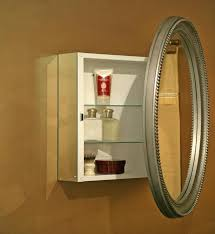 how to hang a medicine cabinet oval medicine cabinet mirror designs ideas and decors how to