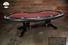 8 person poker table 10 person poker table with lights the capote panther