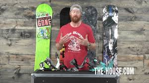 rear entry snowboard bindings the house com youtube