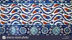Ottoman Tiles Ottoman Tiles Stock Photo 133593958 Alamy