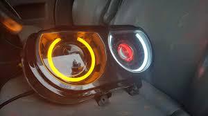 Dodge Challenger Lights - halogen headlights retrofit on 2014 challenger r t challenger