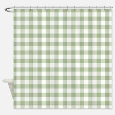 Green Checkered Curtains Gingham Shower Curtains Cafepress
