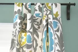 Tab Top Button Curtains How To Make Tab Top Curtains Ofs Maker U0027s Mill