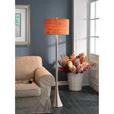 Brushed Silver Floor Lamp Kenroy Home 32093bs Bulletin Floor Lamp Floor Lamp Cork Amazon Com