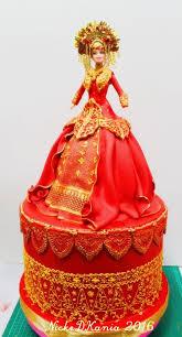 wedding cake palembang 69 best my doll cake images on doll cakes cake