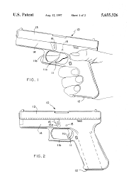 patent us5655326 method of deploying a weapon utilizing the