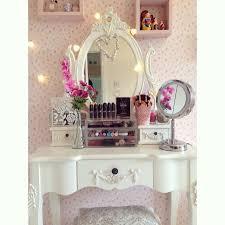 Dressers For Makeup Best 25 Cute Makeup Vanity Ideas On Pinterest Makeup