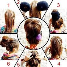 chignon tool large size hair mesh chignon donut make largest most hair