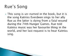 hunger games theme song the hunger games this song is un named in the book but it is