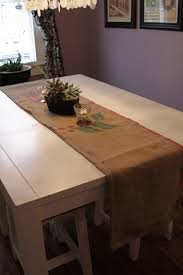 Coffee Table Runners Black And White And Loved All Over Coffee Bean Sack Table Runner