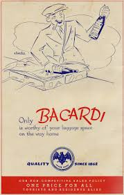 bacardi logo 9 best bacardi vintage images on pinterest liquor vintage ads