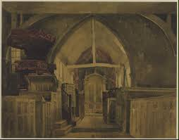 David Cox by Beckenham Church Kent U0027 David Cox C 1842 Tate