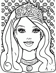 princess face coloring pages coloring