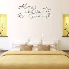 Heart Wall Stickers For Bedrooms Aliexpress Com Buy Creative 3d Mirror Surface Wall Sticker Diy