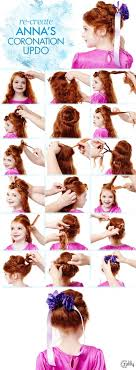 anna from frozen hairstyle frozen hair tutorials elsa and anna hacks