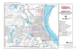 Map Mn Neighborhood Histories Stillwater Minnesota