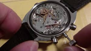 how to remove a wrist watch stem and crown push type poljot 3133