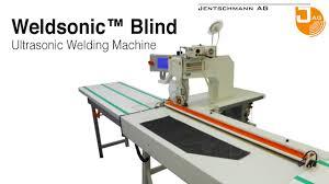 Blind Cutting Service Jentschmann Weldsonic Blind U2022 Ultrasonic Machine For Applying Zip