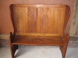 4ft monks bench tall pew settle delivery possible church