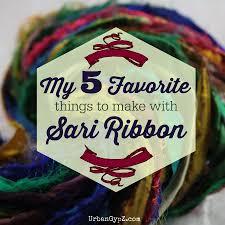 sari silk ribbon my favorite sari silk ribbon projects urbangypz