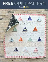 Nautical Quilt Free Ahoy Sailor Quilt Pattern Patterns Tutorials And Babies