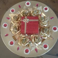 wedding tray decorative gold tone tray to hold wedding rings raji creations
