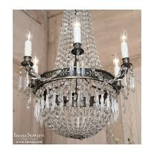 French Empire Chandelier Lighting Antique French Empire Sack Of Pearls Chandelier Inessa Stewart U0027s