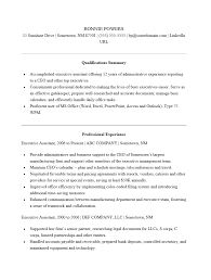 Resume Sample Executive by Free Executive Administrative Assistant Resume Template Sample