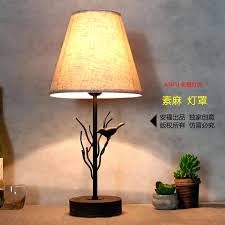 Iron Table Lamps Table Lamp Rustic Iron Table Lamps Birds Font Wrought Walmart
