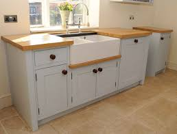 free standing kitchen ideas 20 wooden free standing kitchen sink home design lover stand alone kitchen sink ideas jpg