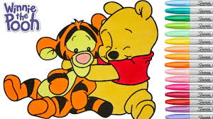 disney coloring book winnie the pooh baby tigger colouring pages
