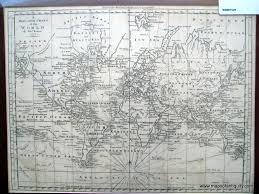Mercator World Map by A Mercator Chart Of The World By Thomas Bowen Not Available