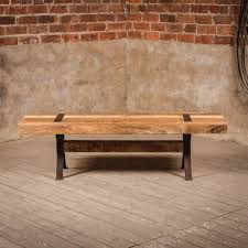 Industrial Style Furniture by J N Rusticus Industrial Style Rustic Elk Bench Furniture From
